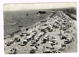 V4784 Senigallia (Ancona) - Panorama Della Spiaggia - Beach Plage Strand Playa / Viaggiata 1953 - Senigallia