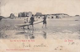 DE PANNE / STRAND / ZEEDIJK EN DUINEN 1907 - De Panne