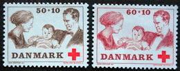 Denmark 1969 Czeslaw Slania.Rotes Kreuz /red Cross/ Croix Rouge MiNr.488-89 MNH (**)   ( Lot Ks 498  ) - Unused Stamps