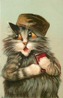 Chats Illustrateur Maurice Boulanger - Chats