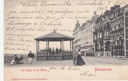 MARIAKERKE / OOSTENDE / ZEEDIJK / HOTELS EN KIOSK 1902 - Oostende