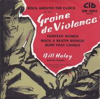 BILL HALEY - EP - 45T - Disque Vinyle - BOF Graine De Violence - 105512A - Música De Peliculas