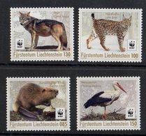 Liechtenstein  2017. WWF. Fauna. Birds. - Liechtenstein