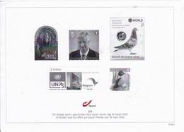 UITGAVE/EDITION 16/03/2020 ZWART/WIT BLAADJE 2/5 - Belgique