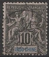 Indochine 1892-96 N° 7 Faux De FOURNIER (F21) - Gebraucht