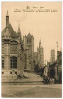 Gent, Postkantoor, St Nikolaaskerk, Het Belfort En De St Baafskerk (pk67342) - Gent