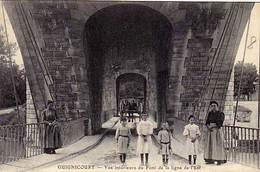 02 - GUIGNICOURT - Vue Intérieure Du Pont De La Ligne De L'Est - - Autres Communes
