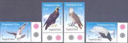 2001. Tajikistan, Birds Of Prey, 4v, Mint/** - Tadschikistan