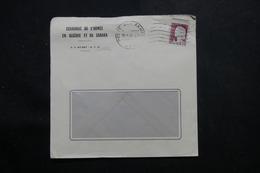 ALGÉRIE - Enveloppe De L 'Economat De L'Armée En Algérie En 1961, Affranchissement Decaris - L 56039 - Covers & Documents