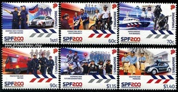 Singapore (2020) - Set - /  Police - Policia - Bikes - Motorbikes - Velo - Police - Gendarmerie