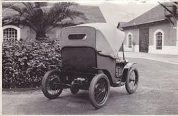 PHOTO ORIGINALE 16,5 X 10,6 Cm - AUTOMOBILE TYPIQUE Du Début Du 20 ° Siècle - Auto à Roues à Rayons - Automobiles