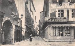 FIGEAC - Rue Gambetta - Grands Magasins Des Nouvelles Galeries - Figeac