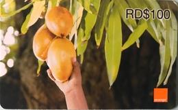 DOMINICAINE  -  Recharge ORANGE Card  -  RD$100 - Dominicaanse Republiek
