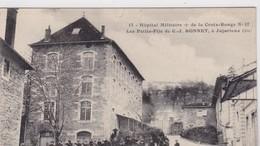 01 / JUJURIEUX /  HOPITAL MILITAIRE DE LA CROIX-ROUGE N°17 LES PETITS-FILS DE C.J. BONNET - Other Municipalities