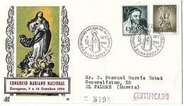 ESPAÑA, 1954 - 1951-60 Briefe U. Dokumente