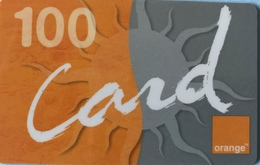 DOMINICAINE  -  Recharge ORANGE Card  -  100 - Dominicaanse Republiek