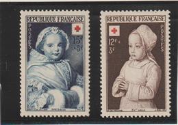 1951 N°914/915 Neuf ** Superbes - France