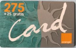 DOMINICAINE  -  Recharge ORANGE Card  -  275 + 25 Gratis - Dominicana