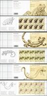 CROATIA 2013 Croatian Fauna Amphibians Toad Salamander Olm Animals Complete Booklet Booklets Carnet Folded MNH - Rane