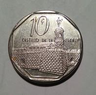 Cuba 2016 KM#576 CASTILLO DE LA FUERZA 10 Centavos Regular VF - Cuba