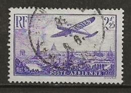 FRANCE:, Obl., PA N° YT 10, TB - Airmail