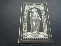 Doodsprentje ( 155 )   Lobbedey / Peel  - Hoogstade  Brielen    1891 - Avvisi Di Necrologio