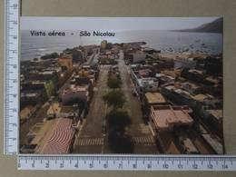CAPE VERDE - VISTA AEREA -  SÃO VICENTE -   2 SCANS     - (Nº34303) - Cape Verde