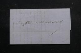 CHILI - Lettre De Santiago Du Chili En 1853 - L 56059 - Chili