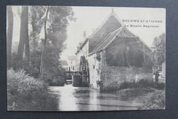 Carte Postale Woluwe St Etienne Le Moulin Degroodt 1906 Saventem Auderghem - Zaventem