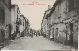 D  81  CADALEN  La Grand'rue - Cadalen