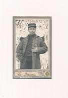 CDV Portrait Soldat Militaire G. Morelli Sousse Tunisie Capote épaulettes - Anciennes (Av. 1900)