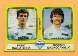 Figurina Panini 1985-86 N° 472 - Fabio Calcaterra E Giorgio Magnocavallo, Lazio - Trading Cards