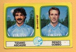 Figurina Panini 1985-86 N° 385 - Tiziano Ascagni E Renzo Gobbo - Brescia - Trading Cards