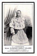 LUTTINO: Mons. EUGENIO CARLO VALUSSI - Principe Vescovo Di Trento - M. 1903 - Religione & Esoterismo