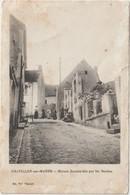 DAV :  Marne :  CHATILLON  Sur  MARNE :  Maison  Bombardée  Par  Les  Allemands 1917 - Châtillon-sur-Marne
