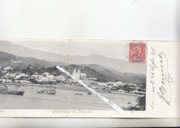 NOUMEA DOBLE POSTCARD - Nouvelle Calédonie