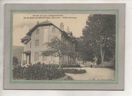 CPA - (73) SAINT-ALBAN-de-MONTBEL - Aspect De La Villa Delmas Du Bord Du Lac D'Aiguebelette En 1910 - Andere Gemeenten