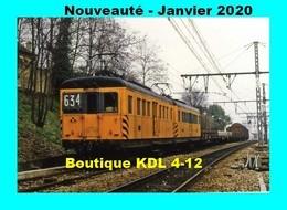 ACACF 640 - Dernier Train De Marchandises De La RATP - Automotrices - Vers CACHAN - Val De Marne - Cachan