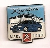 L204 Pin's CITROËN XANTIA MARS 93 Achat Immédiat - Citroën