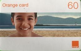 DOMINICAINE  -  Recharge ORANGE  -  Card 60 - Dominicaine