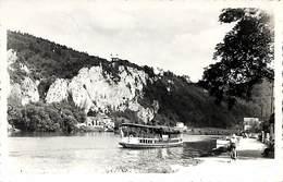 Profondeville - Rochers De Fresnes (bateau, Mosa, Photographie Véritable) - Profondeville