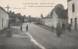 5 CPA Circuit De L'Anjou 1909 Moulin De La Passée Virages Candé De La Riotière Cornuaille - Francia