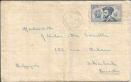 1934 - 297 Oblitéré (o) SEUL Sur Lettre Avec Contenu - Lettres & Documents