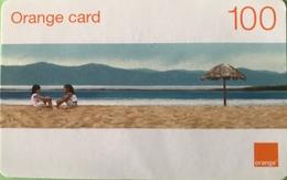 DOMINICAINE  -  Recharge ORANGE  -  Card 100 - Dominicaine