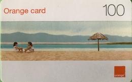 DOMINICAINE  -  Recharge ORANGE  -  Card 100 - Dominicaanse Republiek