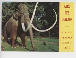 """Mammouth  - PLASNES RN 138 : Le Parc """"les Oiseaux"""" - Cp Vierge - France"""