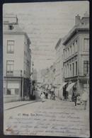 Huy - Rue Neuve - Circulé - Etat: PLI Voir 2 Scans - Huy