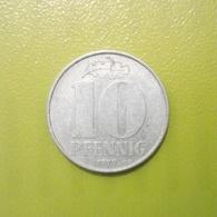 10 Pfennig Münze Aus Der DDR Von 1979 (sehr Schön) - [ 6] 1949-1990 : RDA - Rep. Dem. Alemana