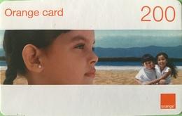 DOMINICAINE  -  Recharge ORANGE  -  Card 200 - Dominicaanse Republiek