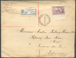 Lettre Recommandé D'ADELAIDE South Australia 14 Ja. 1936 Vers Ben AHin (Huy) - 15300 - 1913-36 George V : Other Issues